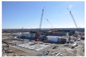 Bluegrass Chemical Agent-Destruction Pilot Plant construction. Photo credit: Assembled Chemical Weapons Alternatives Program