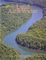 The cover features Paintsville Lake in Johnson County, photographed by J. Hamon, who works in the Department for Natural Resources.