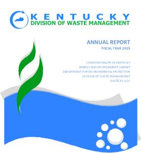 DWM Annual Report Cover